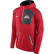Nike Men's Ohio State Buckeyes Scarlet Vapor Speed Fly Rush Sideline Jacket