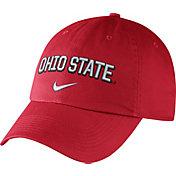 Nike Men's Ohio State Buckeyes Scarlet Heritage86 Wordmark Swoosh Flex Hat