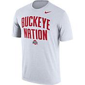 Nike Men's Ohio State Buckeyes 'Buckeye Nation' Authentic Local Legend White T-Shirt