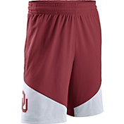 Nike Men's Oklahoma Sooners Crimson/White New Classics ELITE Basketball Shorts