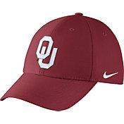 Nike Men's Oklahoma Sooners Crimson Dri-FIT Wool Swoosh Flex Hat