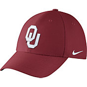 Nike Men's Oklahoma Sooners Crimson Dri-FIT Wool Swoosh Flex Hat