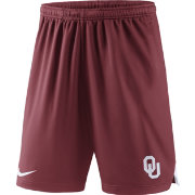 Nike Men's Oklahoma Sooners Crimson Knit Football Sideline Performance Shorts