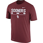 Nike Men's Oklahoma Sooners Crimson Football Staff Legend T-Shirt