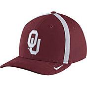 Nike Men's Oklahoma Sooners Crimson Aerobill Swoosh Flex Classic99 Football Sideline Hat