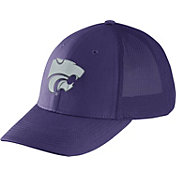 Nike Men's Kansas State Wildcats Purple Legacy91 Flex Mesh Back Hat