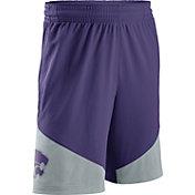 Nike Men's Kansas State Wildcats Purple/Grey New Classics Basketball Shorts
