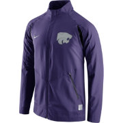 Nike Men's Kansas State Wildcats Purple Hyperelite Basketball Game Jacket