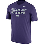 Nike Men's Kansas State Wildcats Purple 'Wildcat Nation' Authentic Local Legend T-Shirt
