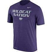 Nike Men's Kansas State Wildcats Purple 'Wildcat Nation' Authentic Local Legend T-Shirt