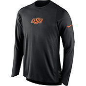 Nike Men's Oklahoma State Cowboys ELITE Shooter Black Long Sleeve Shirt