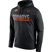 Nike Men's Oklahoma State Cowboys Black Circuit PO Hoodie