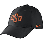 Nike Men's Oklahoma State Cowboys Black Vault Dri-FIT Swoosh Flex Hat