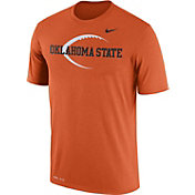 Nike Men's Oklahoma State Cowboys Orange Football Icon Legend T-Shirt