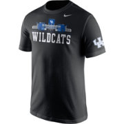 Nike Men's Kentucky Wildcats Campus Elements Black T-Shirt