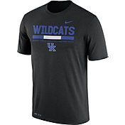 Nike Men's Kentucky Wildcats Football Staff Legend Black T-Shirt