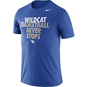 Nike Men's Kentucky Wildcats Blue Basketball Team T-Shirt