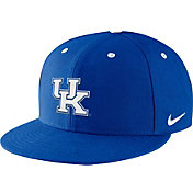 Nike Men's Kentucky Wildcats Blue True Fitted On-Field Baseball Hat