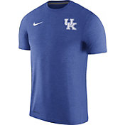 Nike Men's Kentucky Wildcats Blue Coach Football T-Shirt
