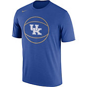 Nike Men's Kentucky Wildcats Blue Basketball Legend T-Shirt