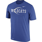 Nike Men's Kentucky Wildcats Blue Football Icon Legend T-Shirt