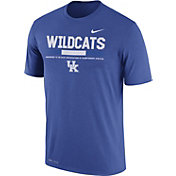Nike Men's Kentucky Wildcats Blue Football Staff Legend T-Shirt