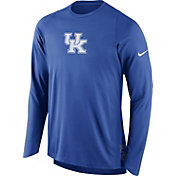 Nike Men's Kentucky Wildcats Blue ELITE Shooter Long Sleeve Shirt