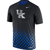 Nike Men's Kentucky Wildcats Black/Blue New Day Innovation Football T-Shirt