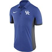 Nike Men's Kentucky Wildcats Blue Evergreen Performance Polo