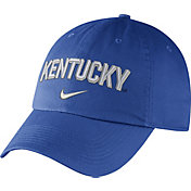 Nike Men's Kentucky Wildcats Blue Heritage86 Wordmark Swoosh Flex Hat