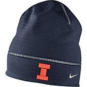 Nike Men's Illinois Fighting Illini Blue Champ Drive Fleece Beanie