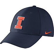 Nike Men's Illinois Fighting Illini Blue Dri-FIT Wool Swoosh Flex Hat
