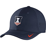 Nike Men's Illinois Fighting Illini Blue Vapor Sideline Coaches Hat