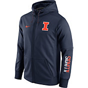 Nike Men's Illinois Fighting Illini Blue Circuit Full-Zip Hoodie