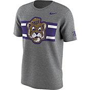Nike Men's LSU Tigers Grey Uniform Hook Football T-Shirt