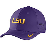 Nike Men's LSU Tigers Purple Vapor Sideline Coaches Hat