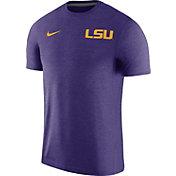 Nike Men's LSU Tigers Purple Coach Football T-Shirt