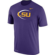 Nike Men's LSU Tigers Purple Football Icon Legend T-Shirt