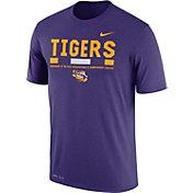 Nike Men's LSU Tigers Purple Football Staff Legend T-Shirt