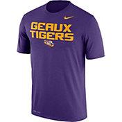 Nike Men's LSU Tigers Purple 'Geaux Tigers' Authentic Local Legend T-Shirt