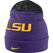 Nike Men's LSU Tigers Purple/Grey Sideline Beanie