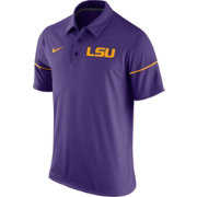 Nike Men's LSU Tigers Purple Team Issue Performance Polo