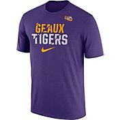 Nike Men's LSU Tigers Purple Ignite Verbiage Legend T-Shirt