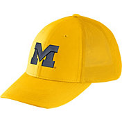 Nike Men's Michigan Wolverines Maize Legacy91 Flex Mesh Back Hat