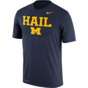 Nike Men's Michigan Wolverines Blue 'Hail' Authentic Local Legend T-Shirt