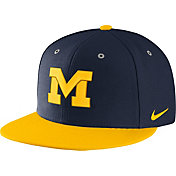 Nike Men's Michigan Wolverines Blue True Adjustable Performance Hat