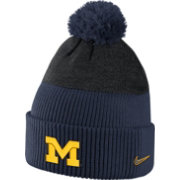 Nike Men's Michigan Wolverines Blue/Black New Day Beanie