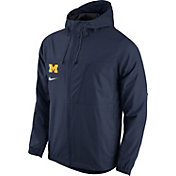 Nike Men's Michigan Wolverines Blue AV15 Winger Jacket