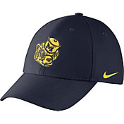 Nike Men's Michigan Wolverines Blue Vault Dri-FIT Swoosh Flex Hat