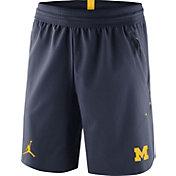 Jordan Men's Michigan Wolverines Blue 23 Tech Flex SE Shorts